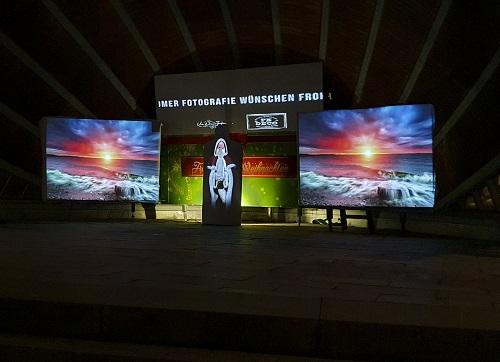 Video Mapping - Projektionsbeleuchtung, 230V