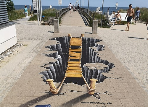 Street Art - Illusionsbilder / Fotopoints